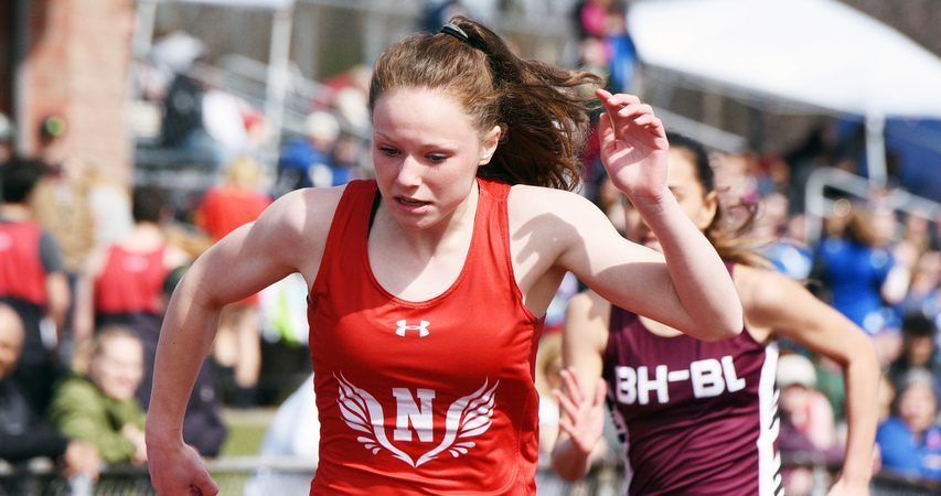 ERICA MILLER/GAZETTE PHOTOGRAPHER Niskayuna's Kaleigh West is expected to run in the Colonie Relays on Saturday.