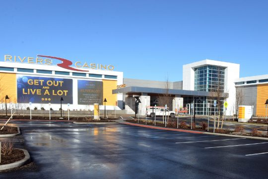The Rivers Casino & Resort in Schenectady is pictured.