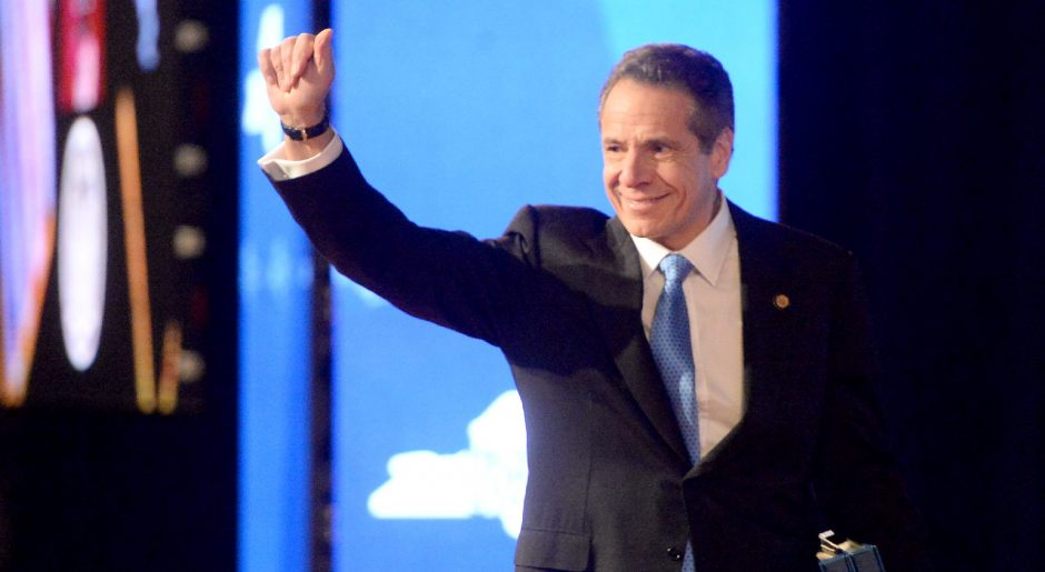 Gov.Andrew M. Cuomo giveshis State of the State address in Albany on Jan.8, 2020.