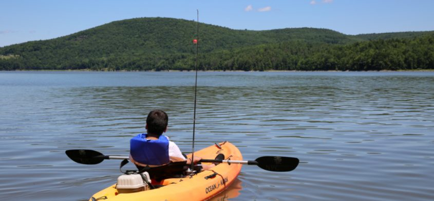 Recreational boating has been allowed at Schoharie Reservoir since 2012, when the New York City Environmental Protection agency permitted kayaks, canoes, sailboats and sculls.