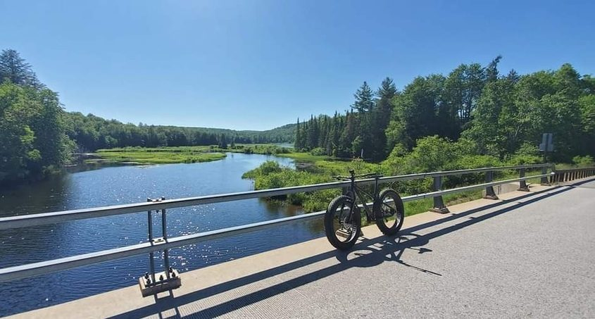 Old Forge has over 30 miles of single track, double track, and flow trails.