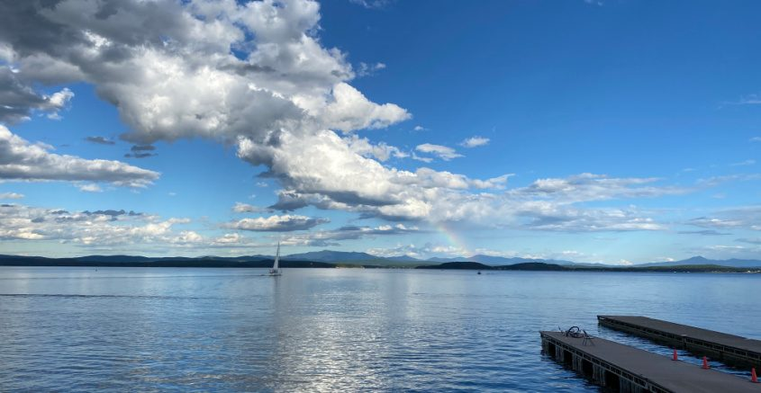 Lake Champlain is known for sailing, swimming and sweeping views