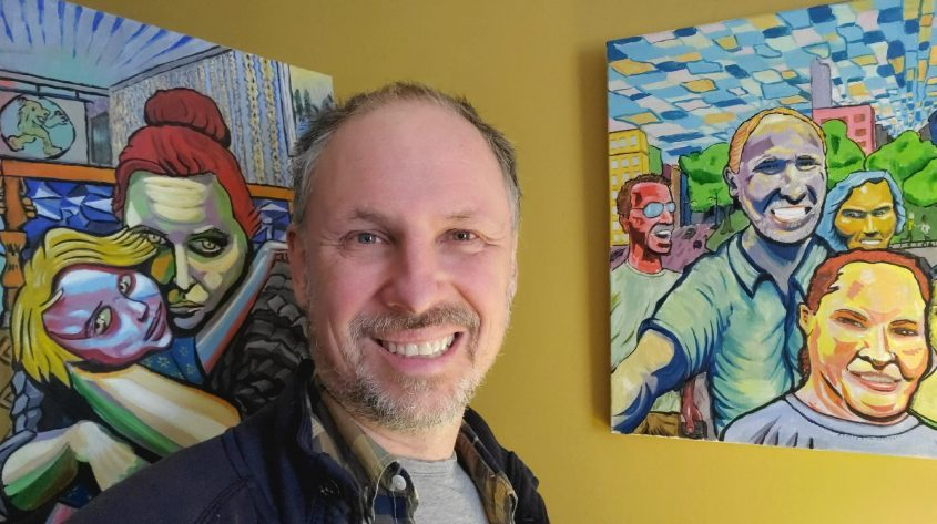 Artist Craig Petreikis is the founder of the Electric City Arts Contest. (photo provided)