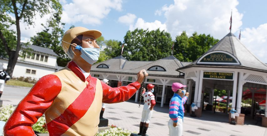 Fans who are fully vaccinated will get free admission to Saratoga Race Course on July 15 opening day.