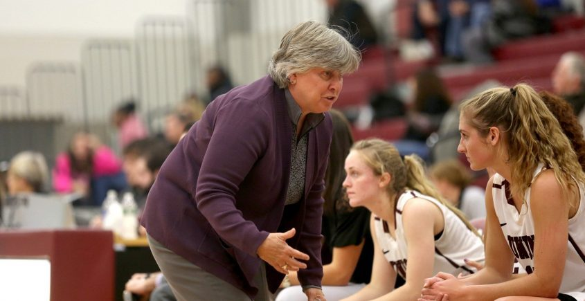 Mary Ellen Burt announced Thursday that she is retiring after 26 years as Union College women's basketball coach. (Union College Athletics photo)