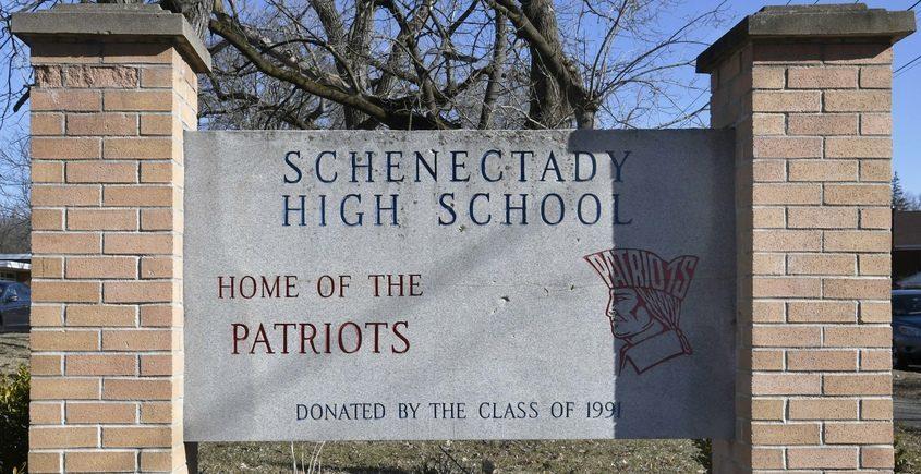 Schenectady High School sign