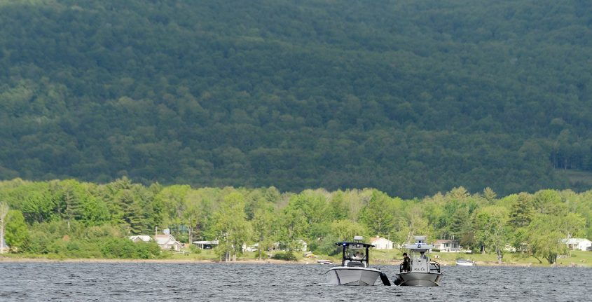 Four rural towns in northwestern Saratoga County hope to lure new residents to their towns by touting the area's natural beauty, such as the Great Sacandaga Lake, pictured.