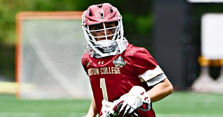 Rachel Hall, who attended Niskayuna schools as a youngster, is shown. Hall helped lead Boston College to a national championship last weekend. (Photo courtesy Boston College)