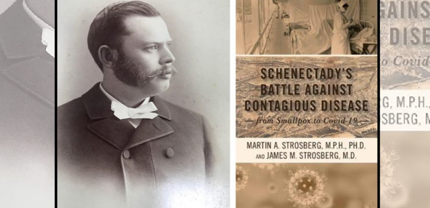 Dr. Charles Duryee was a former Schenectady mayor who hosted a conference of the state's mayors in 1910 to discuss public health issues.Right:The book cover. (Schenectady County Historical Society)