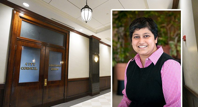 Skidmore College business professor Minita Sanghviwill be the Democratic party's nominee for city finance commissioner in Saratoga Springs.