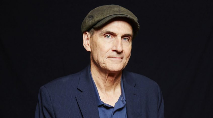Singer-songwriter James Taylor appears during a portrait session in New Yorkin 2015.