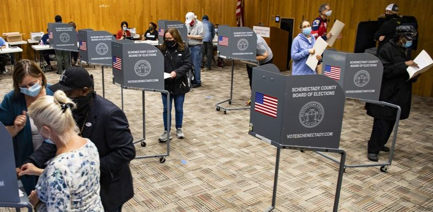 Early voting in October.