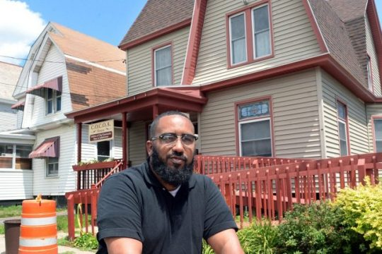 William Rivas, director of COCOA House on Stanley St., is pictured in2018.