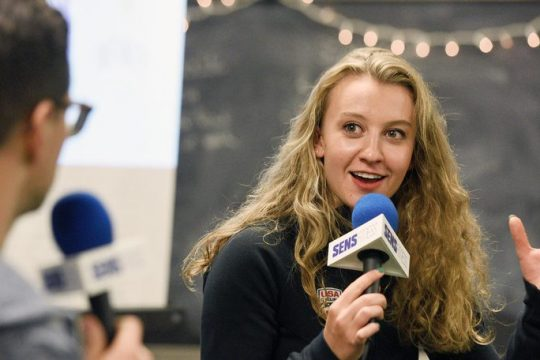 Team USA cyclist Emma White, a Duanesburg High and Union College graduate, was officially named to the Olympic team this week.