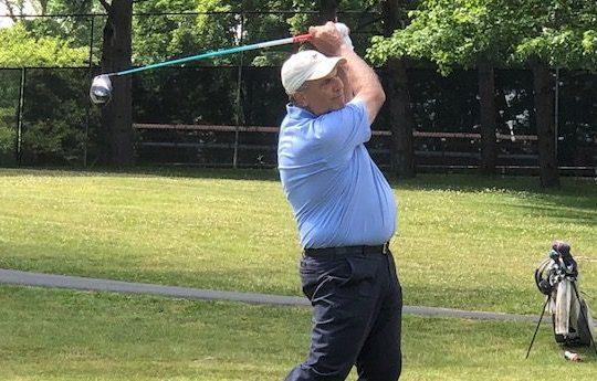 Dan Russo, 63, of Hagaman won his first Schenectady Classic last season at Schenectady Municipal Golf Course. The three-day event runs Friday through next Sunday. (Bob Weiner photo)