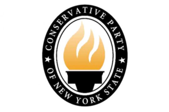 State Conservative Party logo - Courtesy of the New York State Conservative Party