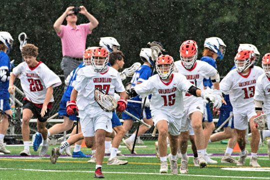 Guilderland won Tuesday's Section II Class A boys' lacrosse championship in Amsterdam.