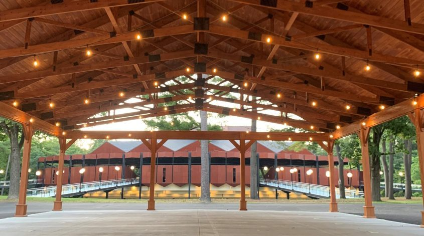 The Julie Bonacio Family Pavilion was added to SPAC's campus in 2020.