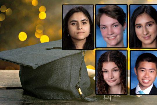 Top: Reem Fnu, Carly Kretzler, Tahira Sardar; Bottom: Marin Hawley, Ryan Tran