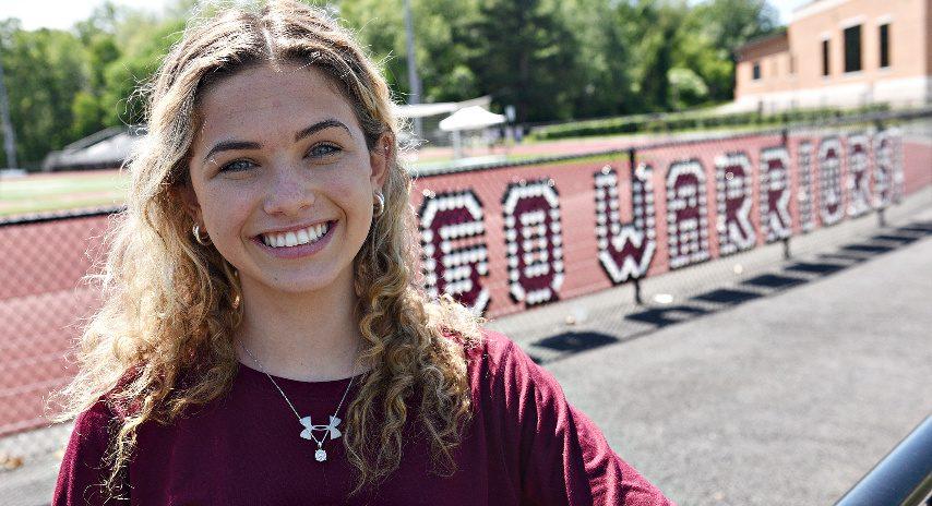 Devon Wagner is shown at Stillwater High School earlier this month.