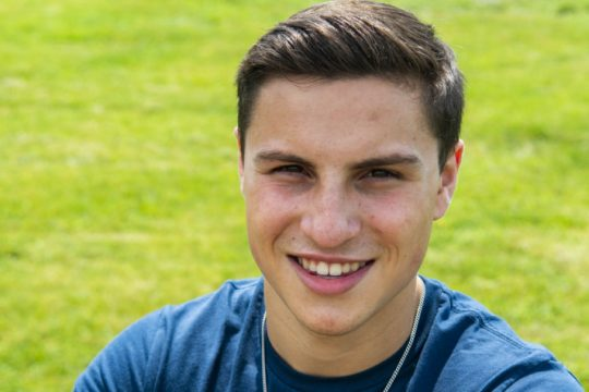 Niskayuna High School's Jack Schiavo is ready for the opportunities and challenges at the Air Force Academy in Colorado Springs.