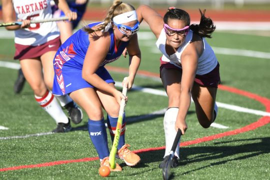 Olivia Geniti of Scotia-Glenville, right, is among the Capital District players who have been selected to compete in USA Field Hockey's Nexus Championship July 7-14 at the Virginia Beach Training Center in Virginia Beach.
