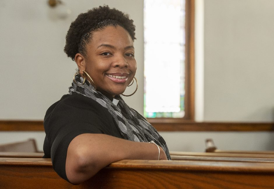 Rev. Nicolle D. Harris is president of the Schenectady branch of the NAACP.