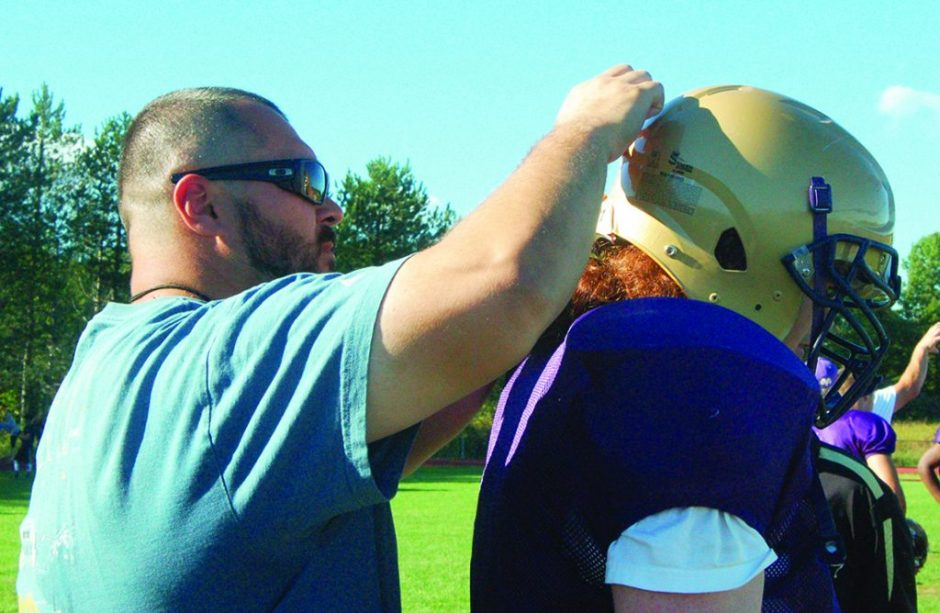 Former Amsterdam assistant coach Paul Furman, left, has been named the new varsity football coach at Johnstown. (File photo)
