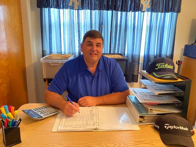 Dave Semione is the longtime league secretary for both the Van Vranken and CW Players leagues at Schenectady Municipal Golf Course. (Photo provided)