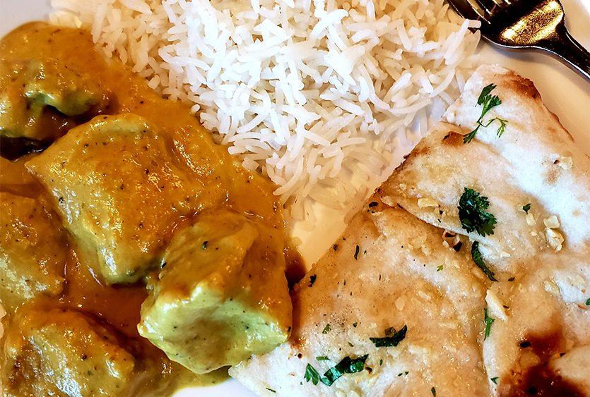 Lamb Elaichi Pasanda at Nirvana Indian Restaurant. (Beverly M. Elander)