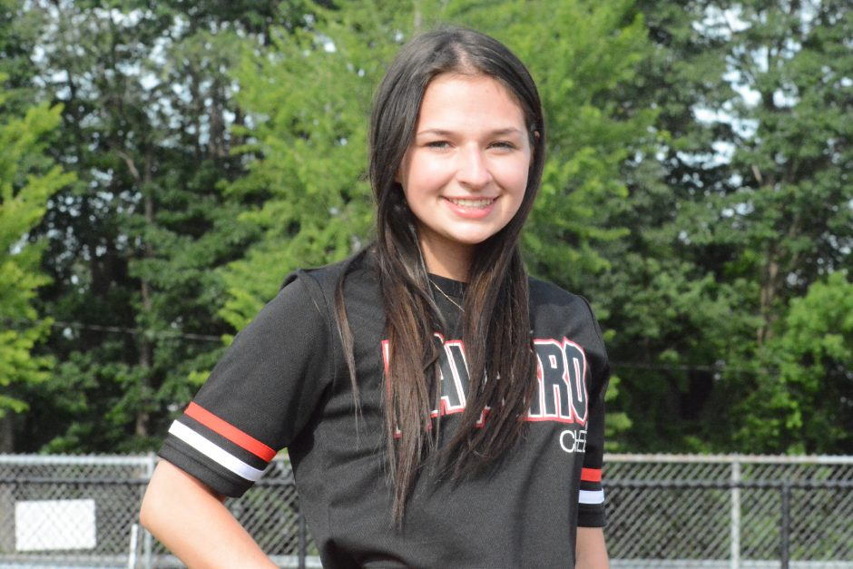 Mohonasen High School graduate Emmalynn DonVito will compete this coming academic year for the nationally-ranked cheerleading team at Navarro College in Corsicana, Texas.