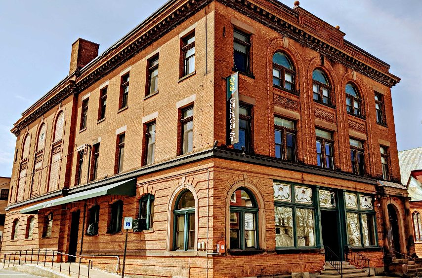 The former YMCA building, now known as One Church Street, is shown in Johnstown. St. John's Episcopal Church is renovating the building to become a community service center. (Provided photo)