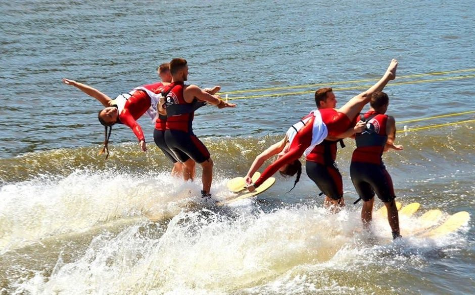 The X-Squad Water Ski Show team performs at 6 p.m. Thursday, July 1, in the City of Amsterdam Independence Day Fest. (photo provided)