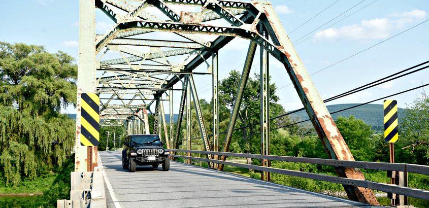 The bridge Tuesday
