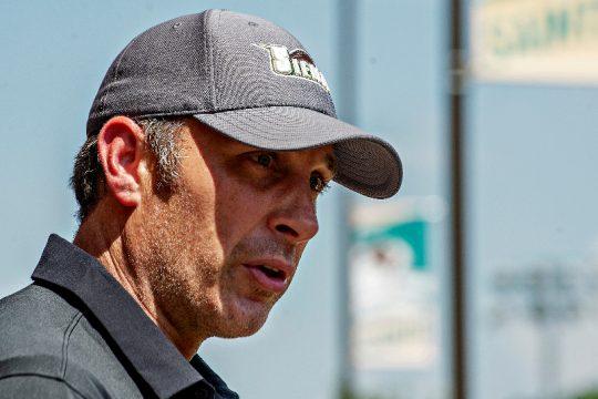 Siena men's basketball head coach Carmen Maciariello is shown in a recent photo.