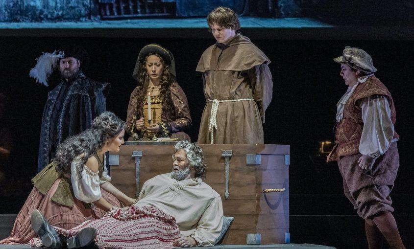 "Saratoga Performing Arts Center opened Opera Saratoga 60th season Thursday with ""Man of La Mancha."" (Photo provided byGary David Gold)"
