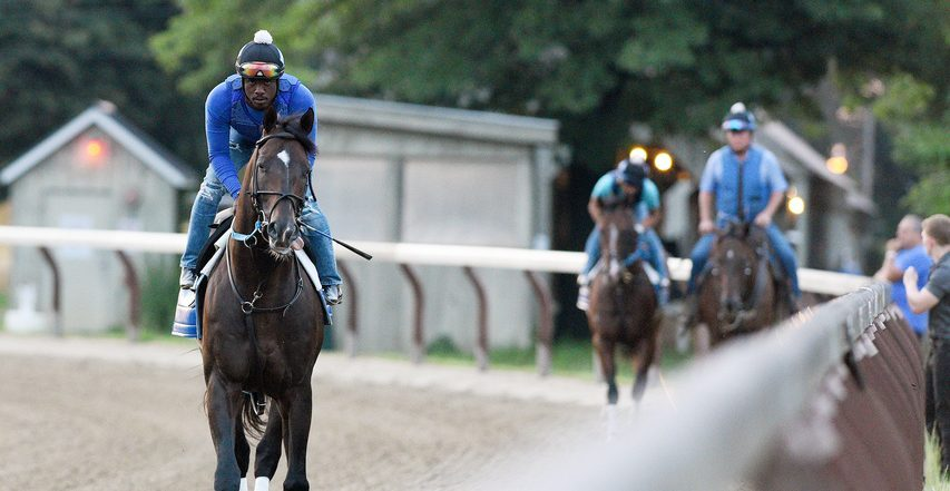 Top Whitney prospect Silver State heads out for a workout on Saturday, as the start of the 2021 Saratoga meet looms next week.