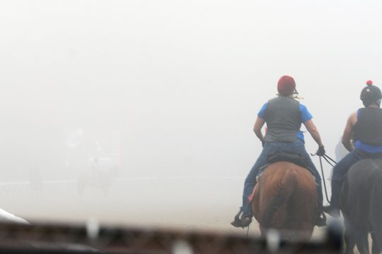 Morning workouts at Saratoga Race Course Thursday