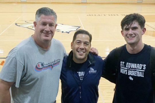 From left,Steve Benton, Andre Cookand Nick Benton.