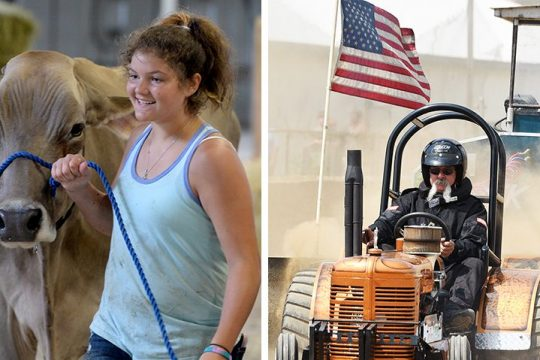 The Saratoga County Fairreturns with agricultural and motorized events and more. Pictured are scenes from the 2019 fair.