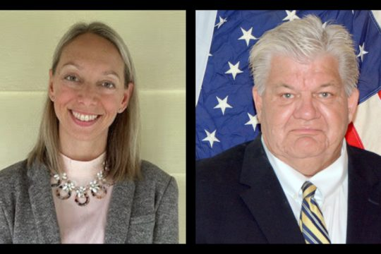 Jessica Brennan (left) and Dave Feiden (right) are set to face offfor the Town Board seat left vacant by Rosemarie Perez Jaquith's July 1 resignation. Brennan will represent the Democrats and Working Families Party, while Feiden has the backing of the Republicans and Conservatives.