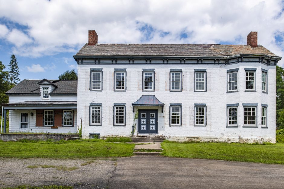 The Yates Mansion on Maple Avenue in Glenville is pictured on Wednesday.
