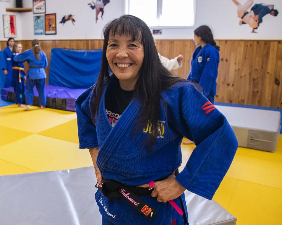 Teri Takemori has been awarded her seventh-degree black belt.
