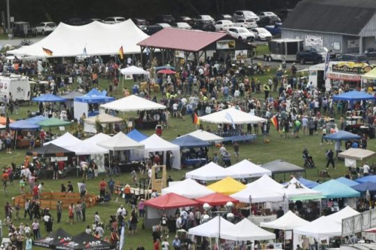 The 10th Annual Glenville Oktoberfest is seen at Maalwyck Park on Saturday, Sept. 28, 2019.