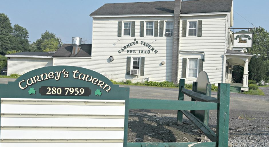 Carney's Tavern at 17 Main St. in Ballston Lake closed Monday, according to a postby operatorsMatt and Stephanie Finnigan on the restaurant's website. They have operated the tavern for the past 8 years.
