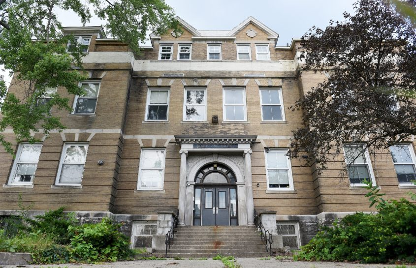 The former Elmer Avenue Elementary School in Schenectady wouldbecome 51 affordable apartments for senior citizens under a recent proposal.