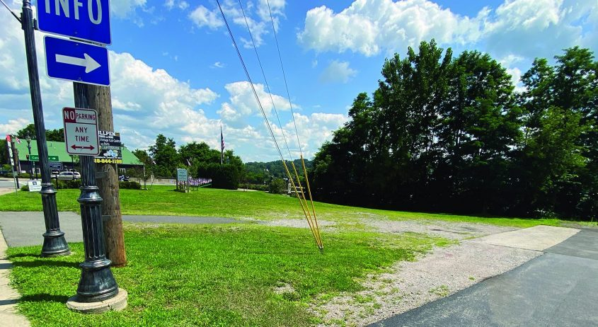 The Village of Palatine Bridge has purchased a strip of property adjacent to the village municipal building.