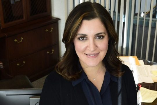 Niskayuna Town Supervisor Yasmine Syedis pictured onJan. 9, 2019.