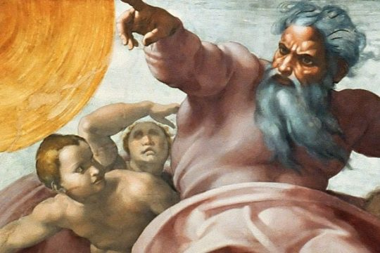 """An image from the exhibit """"Michelangelo — A Different View."""" (Courtesy Global Touring & Promotion Inc)"""
