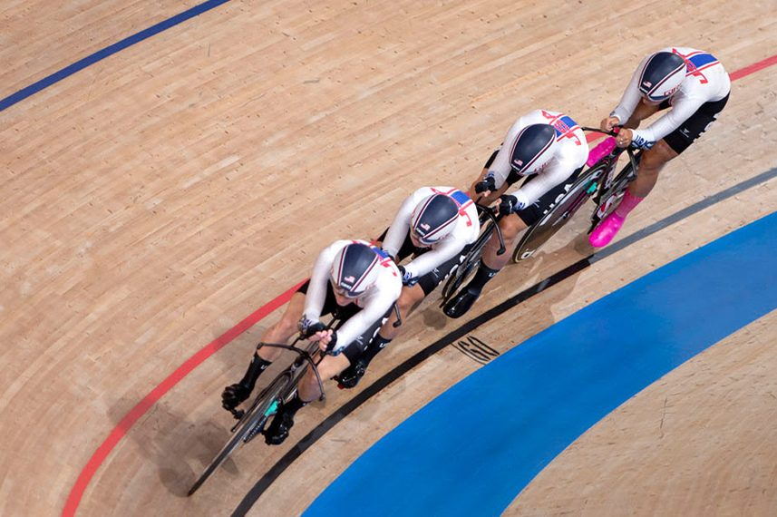 Team USA, including Duanesburg's Emma White, won the bronze medal in women's track cycling team pursuit at the Tokyo Olympics on Tuesday.